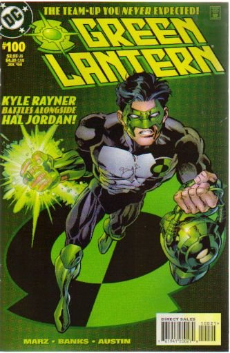 GREEN LANTERN #100 NM (1990) KYLE RAYNER COVER