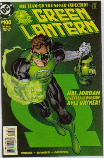 GREEN LANTERN #100 NM (1990) HAL JORDAN COVER