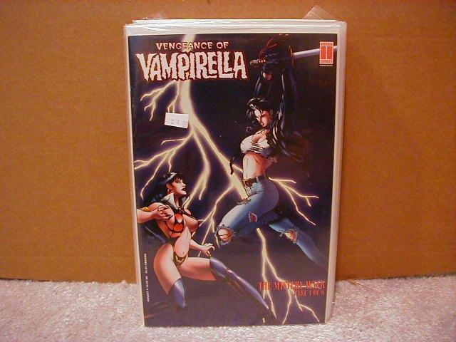 VENGEANCE OF VAMPIRELLA #17 F/VF