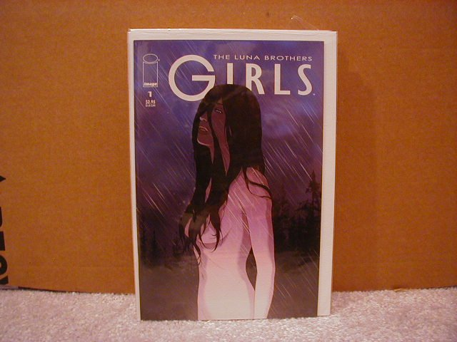 GIRLS #1 VF/NM      LUNA BROTHERS,SWORD