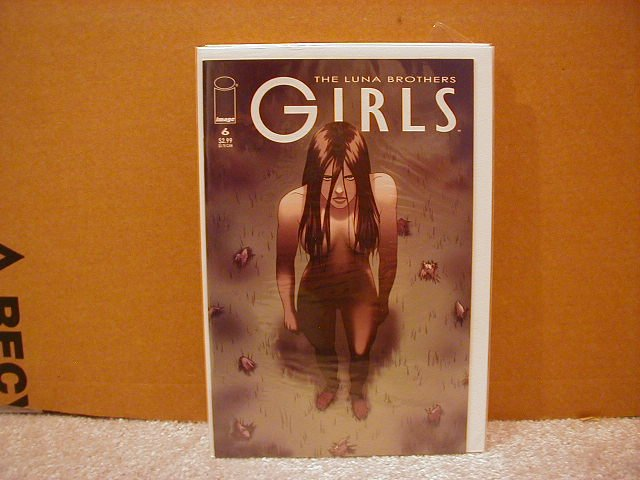 GIRLS #6 VF/NM      LUNA BROTHERS,SWORD