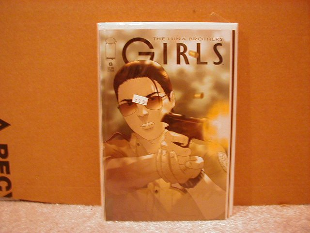 GIRLS #8 VF/NM      LUNA BROTHERS,SWORD