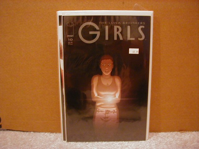 GIRLS #10 VF/NM      LUNA BROTHERS,SWORD