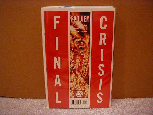 FINAL CRISIS REQUIEM #1 NM (2008)