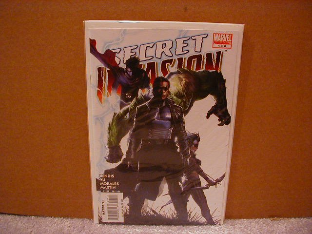 SECRET INVASION #4 NM (2008)SPECIAL THE WEEK!