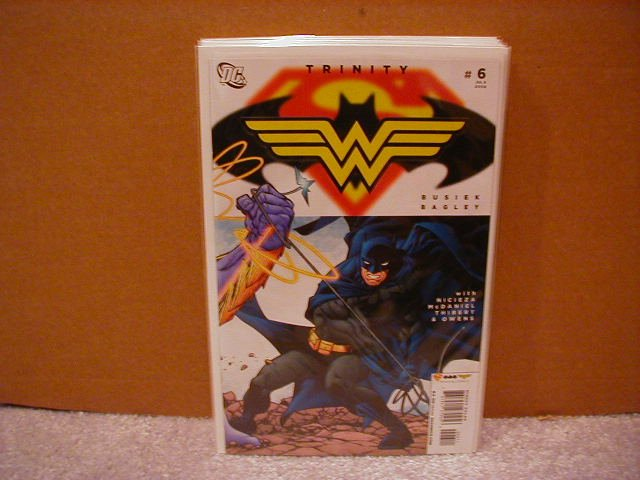 TRINITY #6 NM (2008) SUPERMAN,BATMAN, WONDER WOMAN
