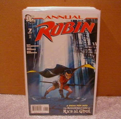 ROBIN ANNUAL #7 NM (2007) SNEAK PEEK OF RESURRECTION OF RA�S AL GHUL