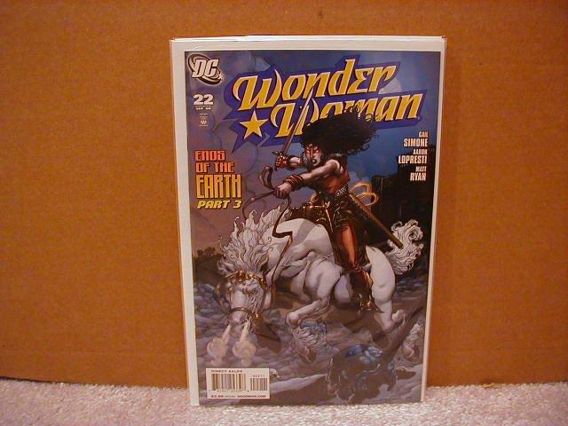 WONDER WOMAN #22 NM (2008)
