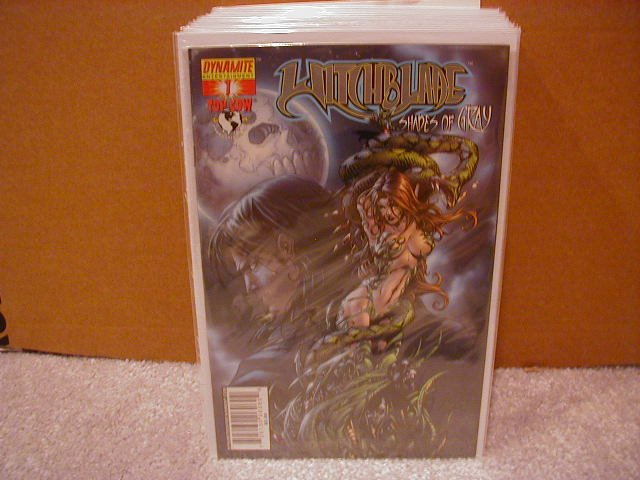 WITCHBLADE SHADES OF GRAY #1 NM  �B� COVER