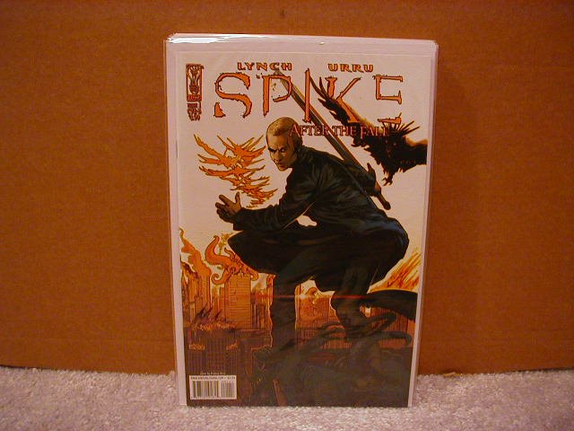 SPIKE AFTER THE FALL #1 NM (2008) COVER �A�