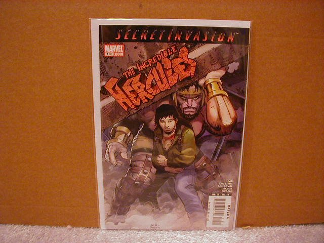 INCREDIBLE HERCULES #119 NM (2008) SECRET INVASION