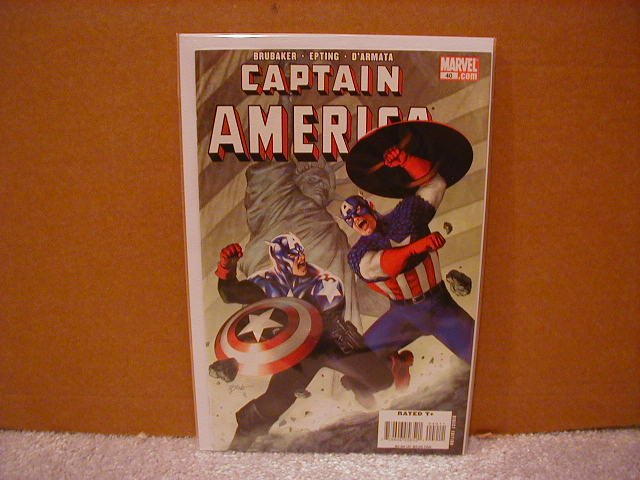 CAPTAIN AMERICA #40 NM (2008)