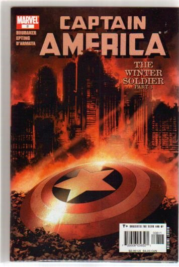 CAPTAIN AMERICA #8 VF/NM WINTER SOLDIER PART 1