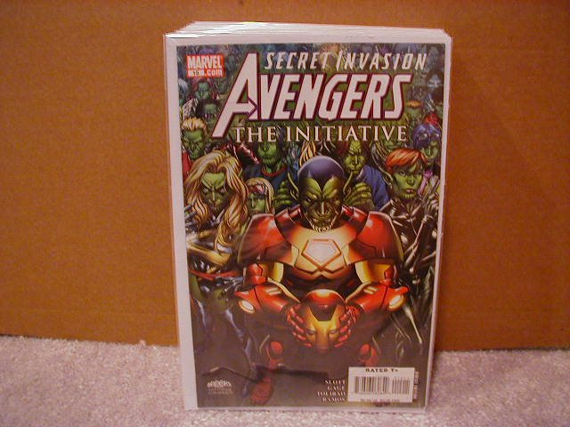 AVENGERS THE INITIATIVE #15 NM (2008) SECRET INVASION