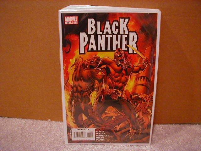 BLACK PANTHER #38 NM(2008)