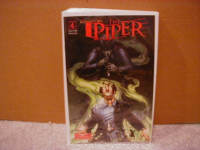 GRIMM FAIRY TALES : THE PIPER #4 NM (2008)