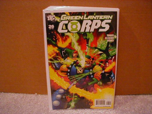 GREEN LANTERN CORPS #26 NM (2008)