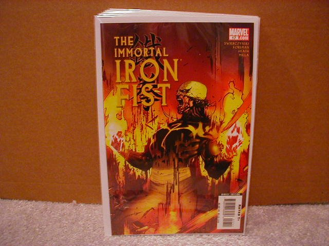 IMMORTAL IRON FIST #17 NM (2008)