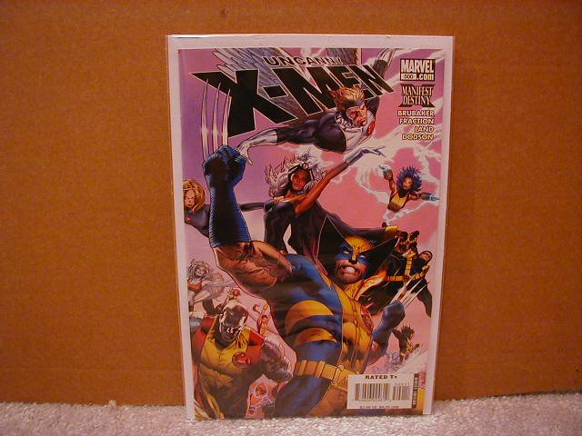 UNCANNY X-MEN #500 NM (2008) �COVER B�