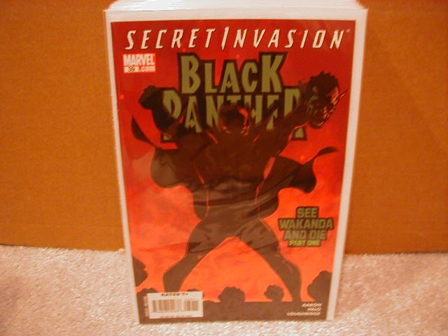 BLACK PANTHER #39 NM (2008) SECRET INVASION