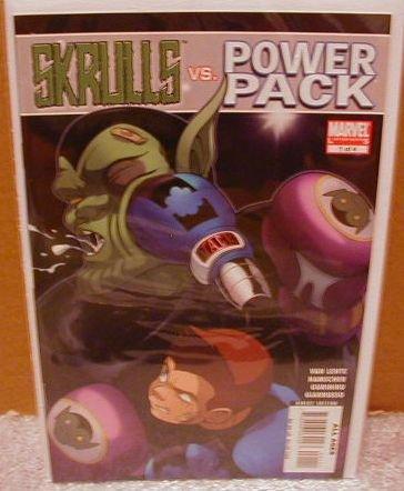 SKRULLS VS. POWER PACK #1 NM (2008)