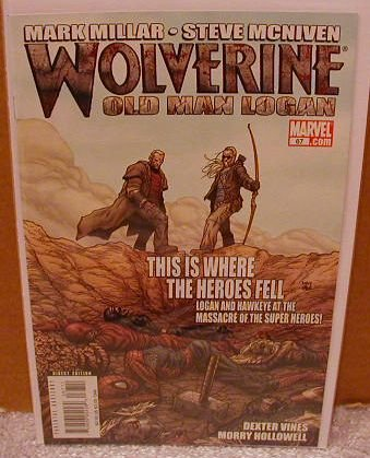 WOLVERINE #67 NM (2008)  �OLD MAN LOGAN�