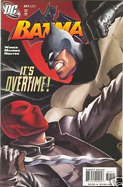 BATMAN #641 VF/NM RED HOOD/JASON TODD REVEALED