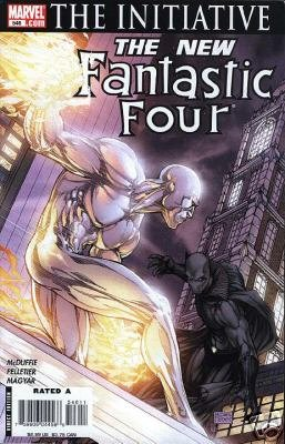 FANTASTIC FOUR #546 NM THE INITIATIVE (2007)MICHAEL TURNER COVER