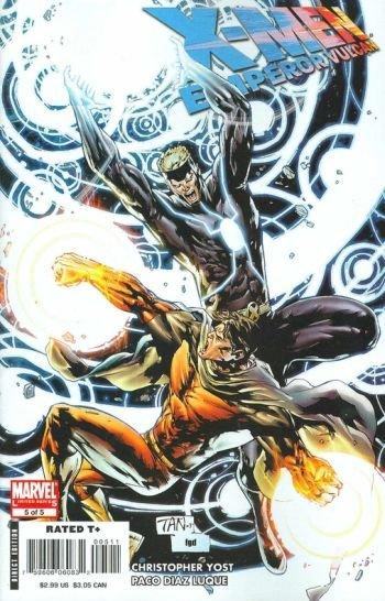 X-MEN EMPEROR VULCAN #5 NM (2008)