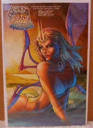 ASPEN SPLASH SWIMSUIT SPECTACULAR 2007 WIZARD WORLD CHICAGO EXCLUSIVE COVER �C�