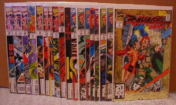 RAVAGE 2099 SET 1-18 ALL VF OR BETTER