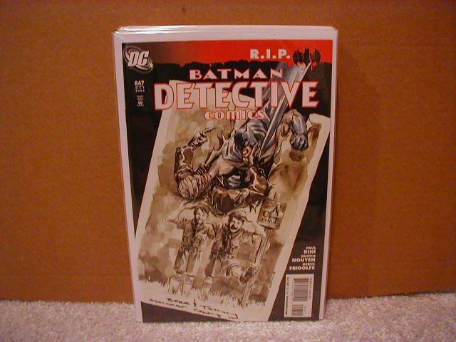 DETECTIVE COMICS #847 NM (2008) �R.I.P.�