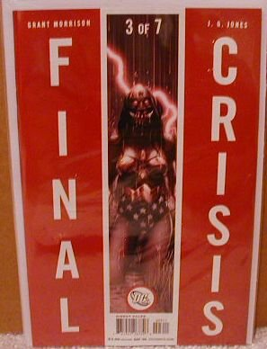 FINAL CRISIS #3 NM (2008) �A� COVER