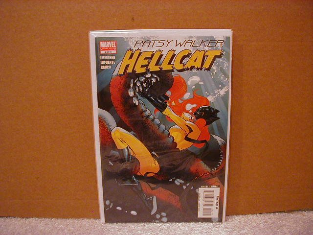 PATSY WALKER: HELLCAT #2 NM (2008)