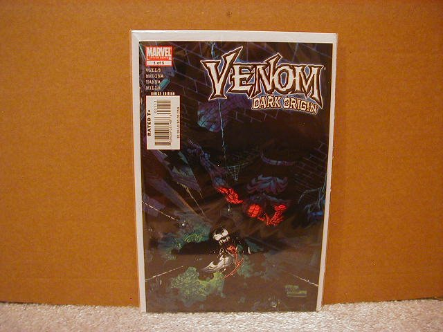 VENOM DARK ORIGIN #1 NM (2008)