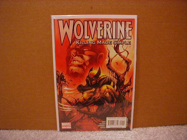 WOLVERINE KILLING MADE SIMPLE ONE-SHOT NM (2008)