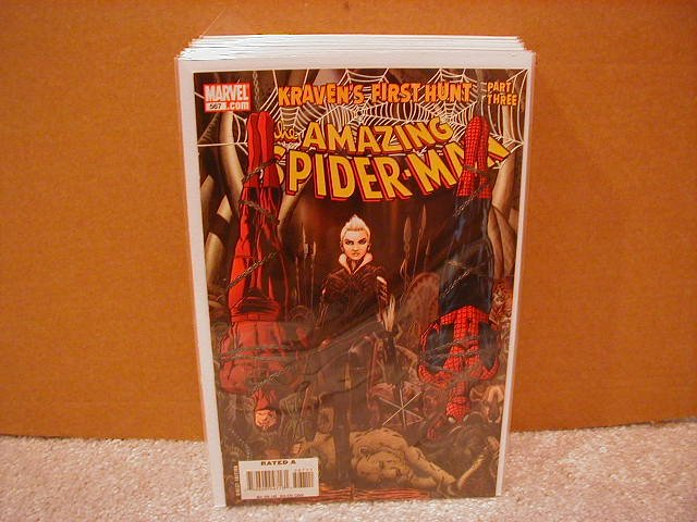 AMAZING SPIDER-MAN #567 NM (2008)