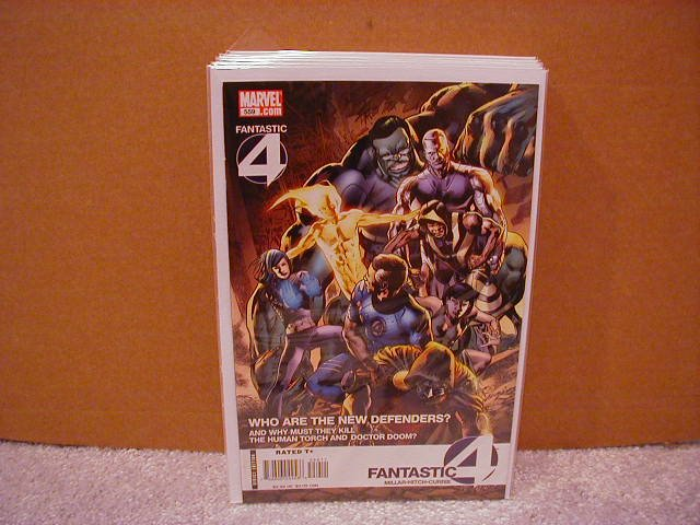 FANTASTIC FOUR #559 NM (2008)
