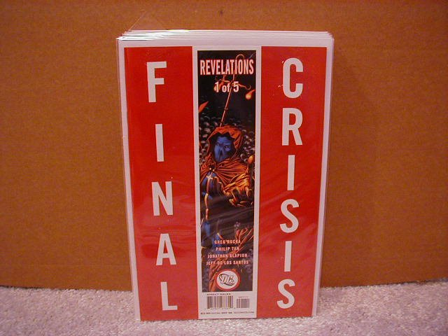 FINAL CRISIS REVELATIONS #1 NM (2008)  �A� COVER