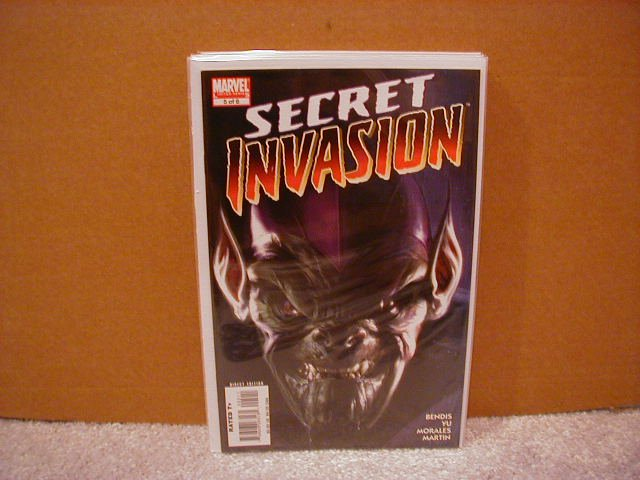 SECRET INVASION #5 NM (2008)