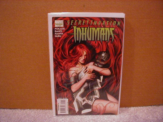 SECRET INVASION INHUMANS #1 NM (2008)