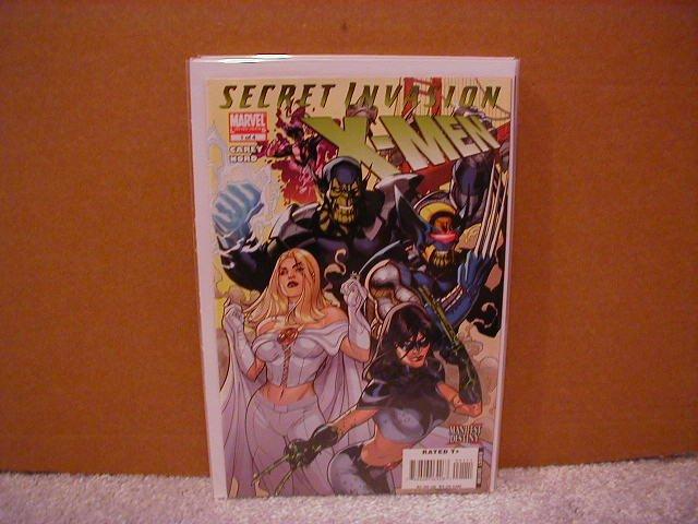 SECRET INVASION X-MEN #1 NM (2008)