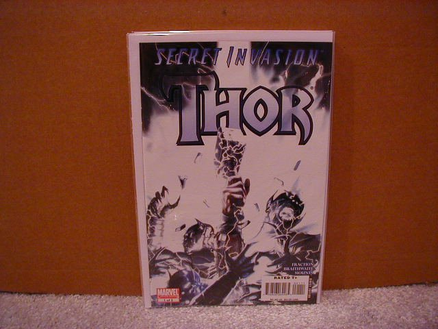 SECRET INVASION THOR #1 NM (2008)