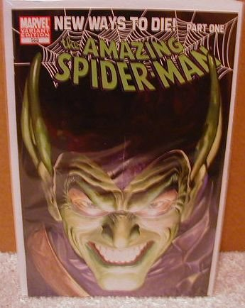 AMAZING SPIDER-MAN #568 NM (2008) NEW WAYS TO DIE-GREEN GOBLIN IS BACK- COVER �B�