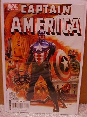 CAPTAIN AMERICA #41 NM (2008)