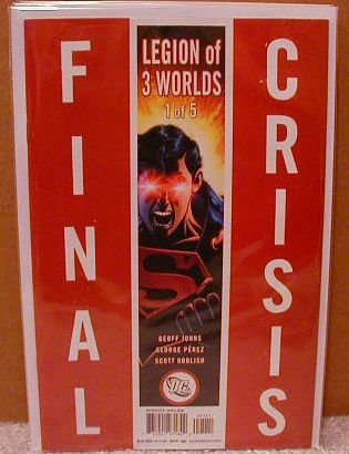 FINAL CRISIS LEGION OF 3 WORLDS #1 NM (2008)