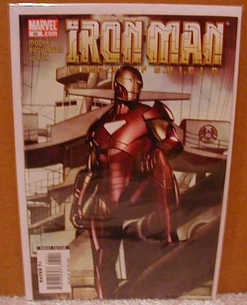IRON MAN DIRECTOR OF SHIELD #32 NM (2008)