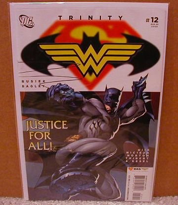 TRINITY #12 NM (2008)SUPERMAN, BATMAN,WONDER WOMAN