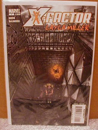 X-FACTOR LAYLA MILLER #1 NM (2008)