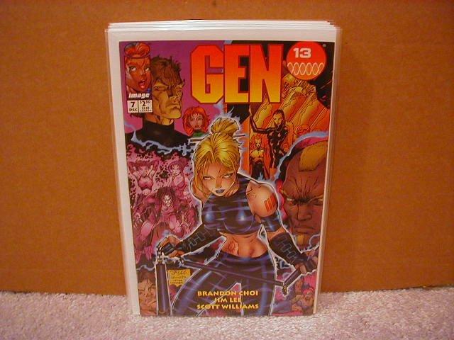GEN 13 #7  VF+ (12/1995)
